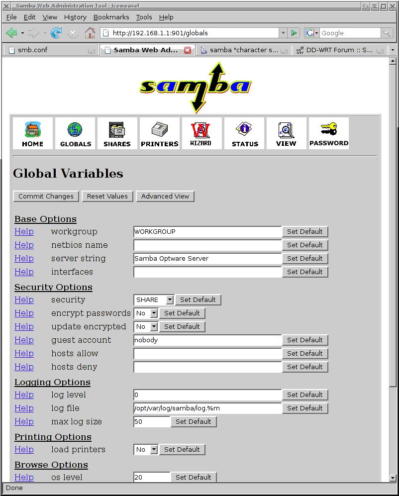 samba swat