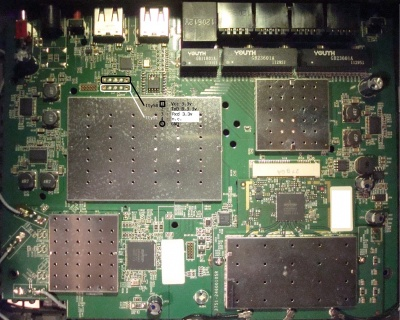 JTAG pin layout?